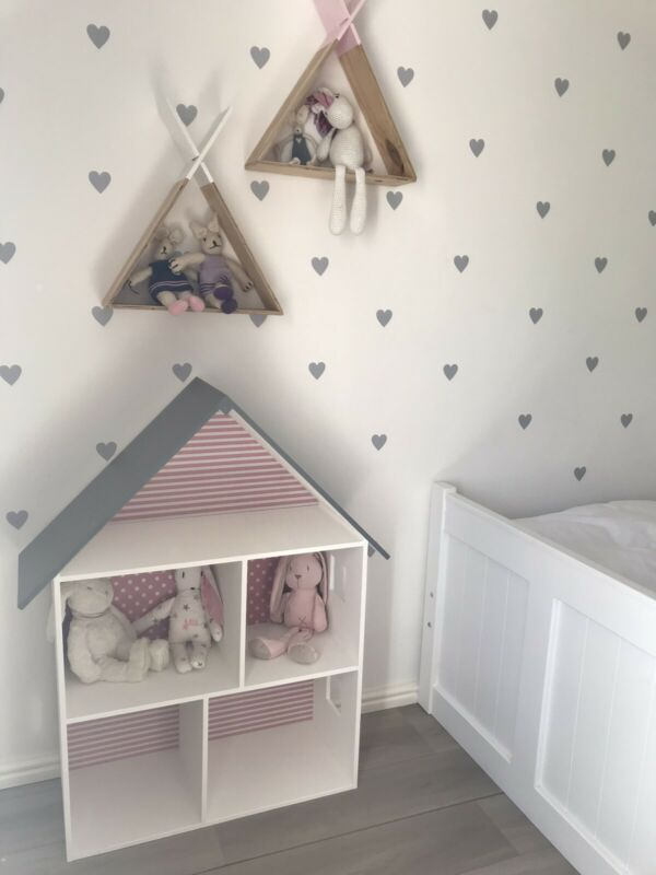 Large wooden doll house, book shelve, storage unit