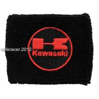 Kawasaki Reservoir Socks Brake Fluid Oil Tank Cup Cover Zx 6 7 10 14 Black&red