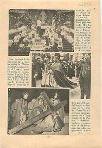 """Jardins de l'Oeuvre des Orphelins Apprentis d'Auteuil 1936 ILLUSTRATION - France - Commentaires du vendeur : """"OCCASION"""" - France"""
