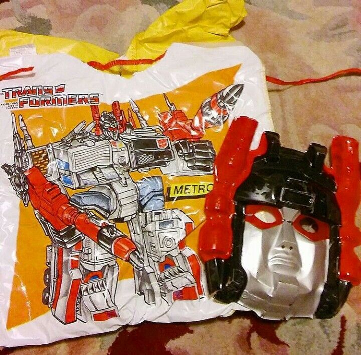 RARE G1 METROPLEX Costume w MASK 1984 Transformers Autobot Collegeville Used