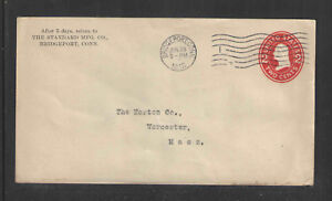 1912-THE-STANDARD-MFG-CO-BRIDGEPORT-CONN-ADVERTISING-COVER-US-STAMPED-ENVELOPE