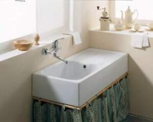 Dettagli su Lavello cucina 100x45 da appoggio Canada Ceramica Dolomite in  stock/outlet