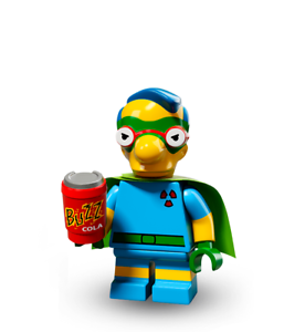 LEGO 71009 Fallout Boy Milhouse Simpsons Series 2 Collectible Minifigure OPENED