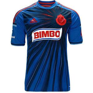 eafb0120b Adidas Chivas Guadalajara Mexico 14 15 3rd Jersey Short Sleeve Blue ...