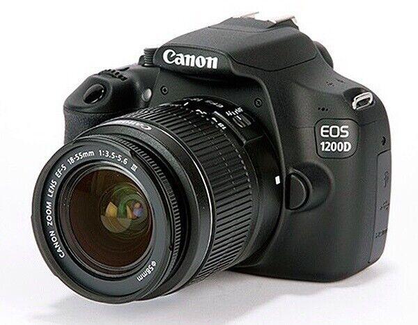 Canon, spejlrefleks, 18 megapixels