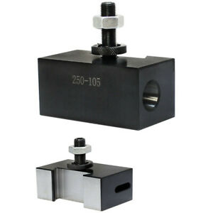 AXA 5//8/'/' Oversize Quick Change Turning Facing Lathe Tool Post Holder 250-101XL