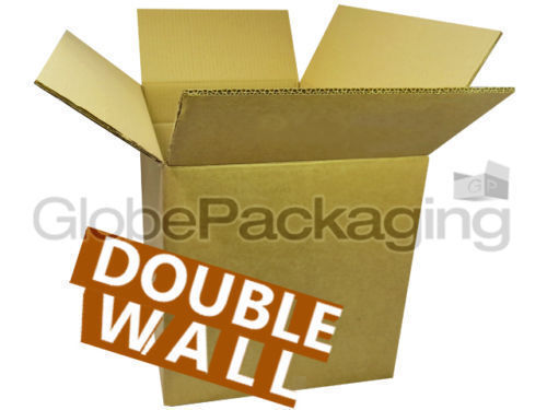 """10 x Medium D//W Moving Cardboard Cartons Boxes 14x10x12/"""" Double Wall *OFFER*"""