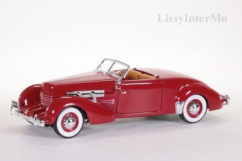 Cord 812 Convertible 1937 autoworld 1 18 Nouveau Neuf dans sa boîte