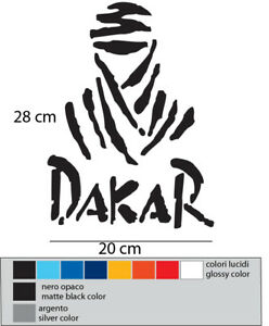PARIS-DAKAR-stickers-aufkleber-autocollant
