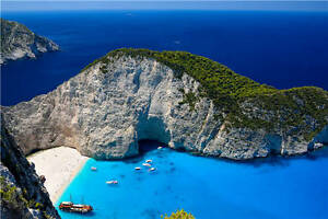 Image Is Loading Shipwreck Navagio Beach Ioni Full Wall Mural Photo
