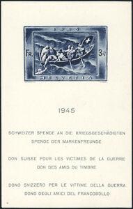 SCHWEIZ-1945-Block-11-tadellos-postfrisch-Mi-220