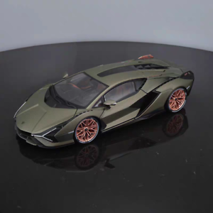 New-Bburago-1-18-Scale-Lamborghini-Sian-FKP37-Diecast-Car-Model-Collection