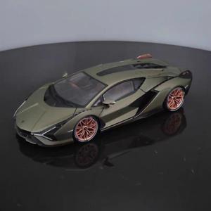 Nueva-escala-1-18-Bburago-Lamborghini-Sian-FKP37-modelo-automovil-de-fundicion-Coleccion