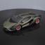 Nueva-escala-1-18-Bburago-Lamborghini-Sian-FKP37-modelo-automovil-de-fundicion-Coleccion miniatura 1