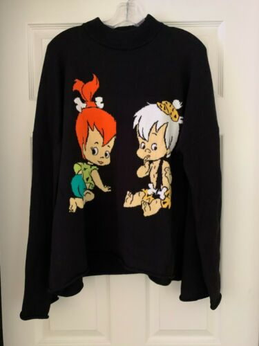 Lazy Oaf X Flintstones Sweater sz L