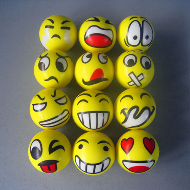 Emoji Emotion Face Squeeze Toy Anti Stress Reliever Ball ADHD Autism Mood