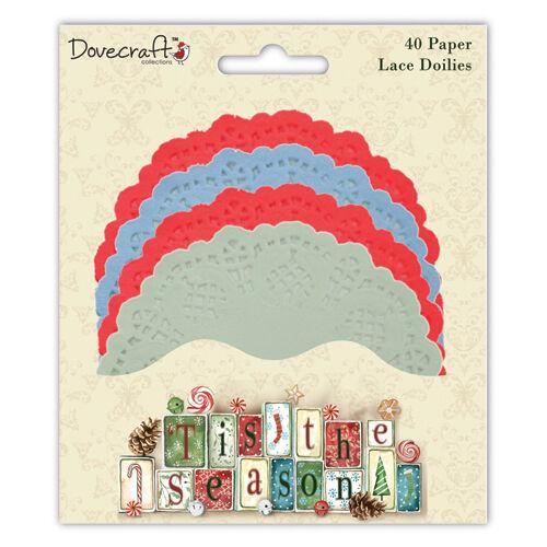 Dovecraft /'tis the season couleur doilies