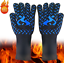 550-800-F-BBQ-Kitchen-Long-Large-Heat-Resistant-Silicone-Non-slip-Gloves miniature 18