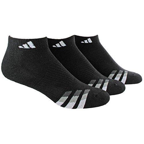 Agron Socken adidas Mens Cushioned Low Cut (3er Pack) - Wählen Sie SZ / Color.