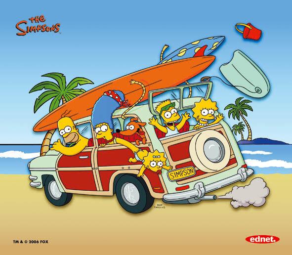 Los Simpsons - Pad & Alfombrilla de Raton