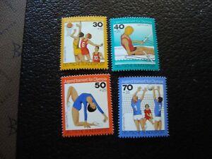 Germany-Rfa-Stamp-Yvert-Tellier-N-731-A-734-N-MNH-COL2