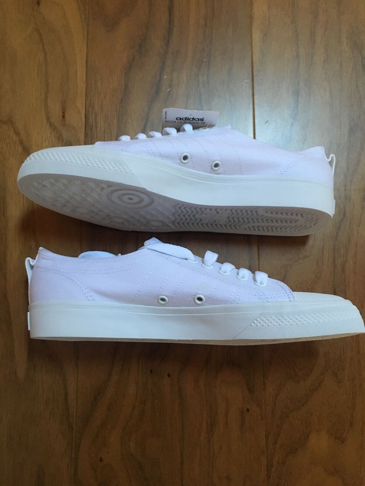 ADIDAS NIZZA LOW Triple bianca bianca bianca Limited Edition VERY RARE sold out ovunque 476c53