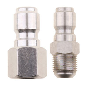 """Pressure Washer 15mm Male to 3//8/"""" Quick Release Coupling Socket Plug"""