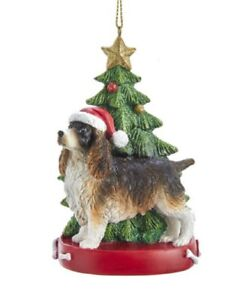 Springer-Spaniel-Inglese-Albero-di-Natale-Ornamento