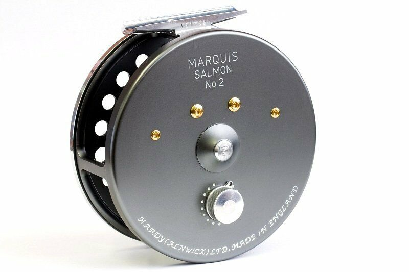 Hardy Marquis LWT Salmon  2 Fly Reel - NEW - Free Line