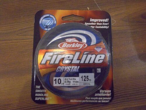 Berkley FireLine Crystal 10 lb 125 yards crystal NIB