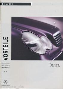 Mercedes-C-Klasse-Vorteile-Design-2000-3-00-Publikation-Prospekt-brochure-Auto