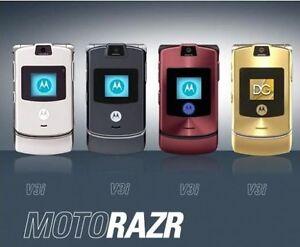 Telefono-Motorola-MOTORAZR-V3i-NERO-ARGENTO-Cellulare-Nuovo-garanzia-12-mesi