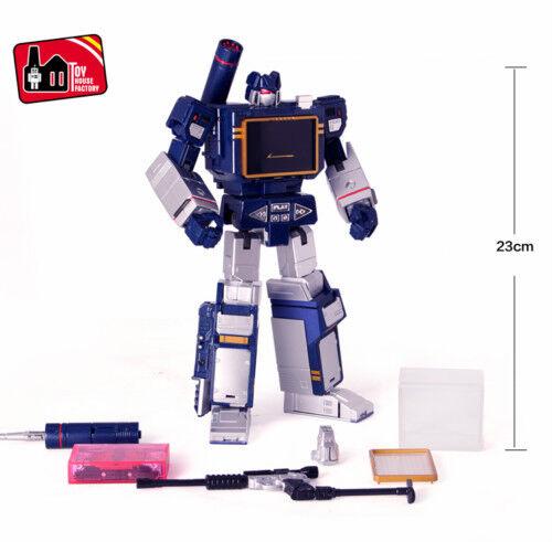 Transformers THF Master Soundwave Soundwave Soundwave with Laser Bird tape action figure KidToy MISB a4dfe7