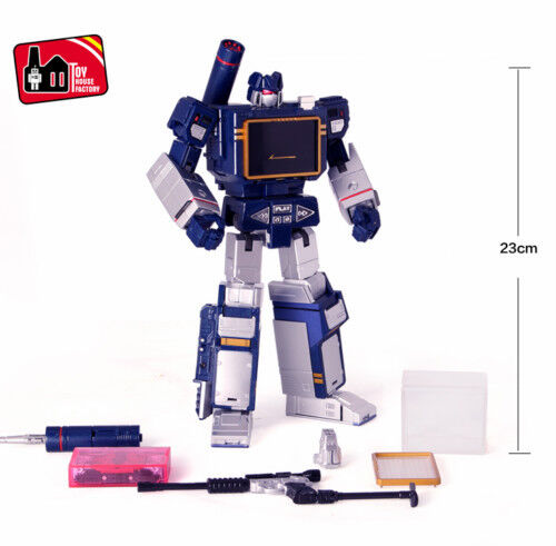 Transformers THF Master Soundwave with Laser Bird tape action figure KidToy MISB