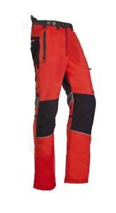 Sip Innovation Ii Type C Tronçonneuse Pantalon Rouge Haut 1spy Large-afficher Le Titre D'origine