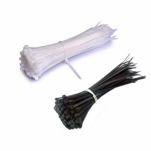 Profi Kabelbinder UV stabil weiß schwarz 3mm*150mm robust stabil Nylon 6 6