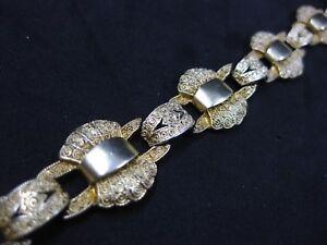 Theodor-Fahrner-Kette-Armband-Art-Deco-Silber-Jugendstil-Anhaenger-925-Pforzheim