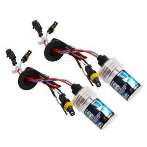 2X-35w-H11-Xenon-Hid-Light-AC-12v-Single-Beam-Bulb-H8-H9-3000K-4300K-6000k-8000K