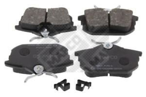 Bremsbelagsatz Scheibenbremse MAPCO 6500 hinten für MITSUBISHI PROTON SMART