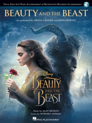Beauty and the Beast Vocal Solo with Online Audio Vocal Solo Book NEW 000234730