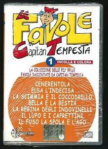 Le-favole-di-Capitan-Tempesta-Cenerentola-La-bella-e-la-bestia-CD-Audio