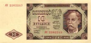 05-Poland-Polen-P136b-10-Zlotych-1948-Serie-AY