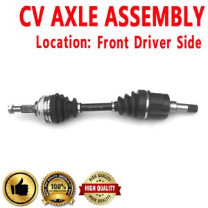 1x Front Driver Side CV Axle Drive For DODGE STRATUS 01-06 L4 2.4L Sedan V6 2.7L