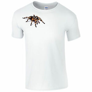 e62a5cf2 Details about Scary Tarantula T-Shirt - Spooky Spider Joke Halloween 3D  Horror Gift Mens Top
