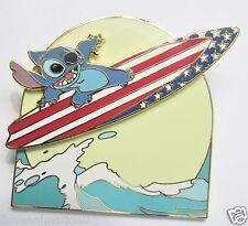 Disney Pin 22529 DLR Mickey's All American Festival Stitch Pin