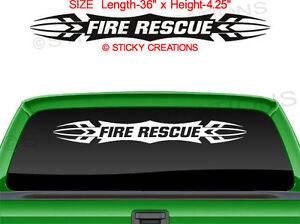 Rescue Adopt Dog Cat Pet Lover Car Bumper Window Vinyl ...  |Rescue Window Decals