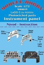 Modell Hobby MH0019 1/72 PE Instrument Panel Roden Lavochkin LaGG-3
