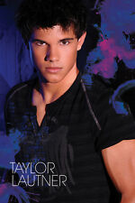 ACTOR POSTER Taylor Lautner Blue