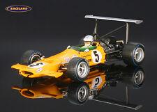 McLaren M7A Cosworth McLaren Racing F1 4° GP Spanien 1969 Hulme,Spark 1/43,S3118