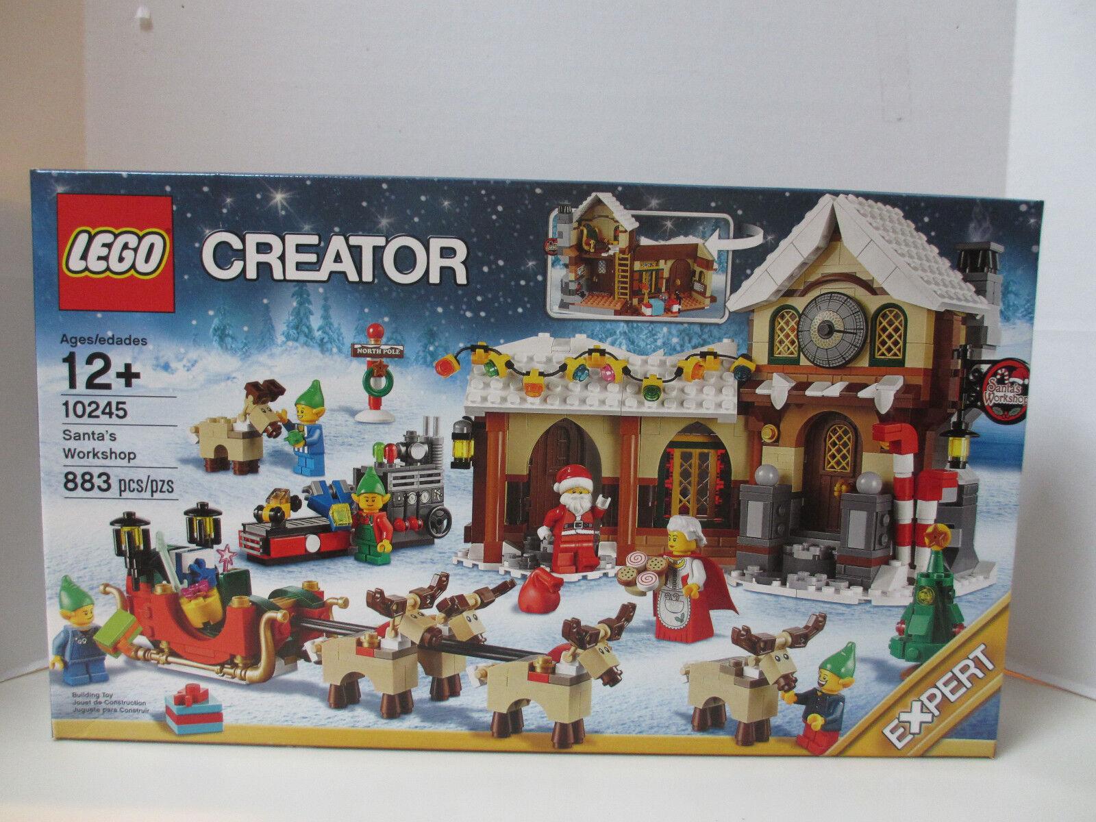 Lego Creator Santa's Workshop (10245) -- Sellado, nuevo conjunto de Navidad -- Excelente